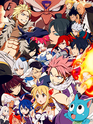 Anime Fairy Tail Serie