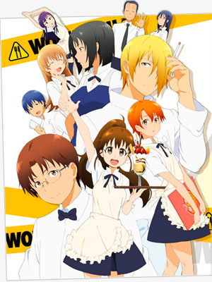 Anime Working'!! Serie
