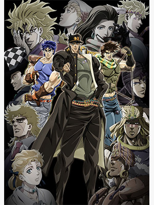 Anime JoJo's Bizarre Adventure The Animation Serie