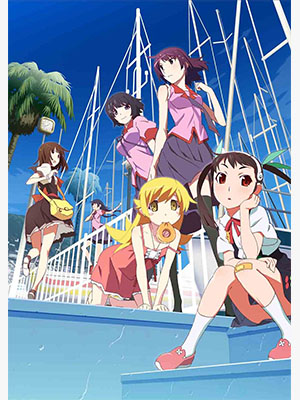 Anime Monogatari Series: Second Season Serie