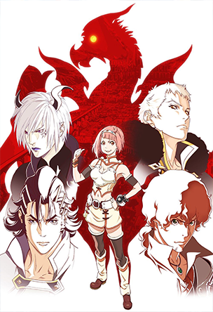 Anime Shingeki no Bahamut: Virgin Soul Serie