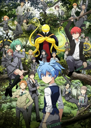 Anime Assassination Classroom 2nd Season Serie