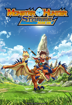 Anime Monster Hunter Stories: Ride On Serie