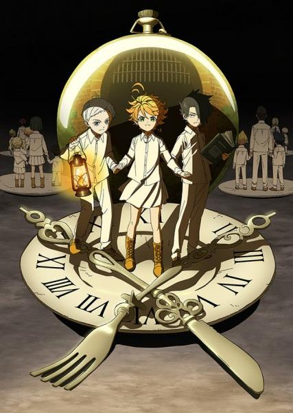 Anime Yakusoku no Neverland Serie