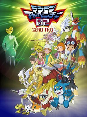Anime Digimon Adventure 02 Serie