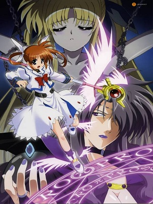Anime Magical Girl Lyrical Nanoha Serie