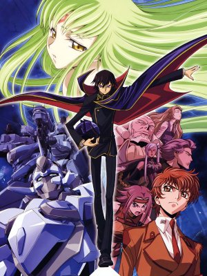 Anime Code Geass: Lelouch of the Rebellion Serie