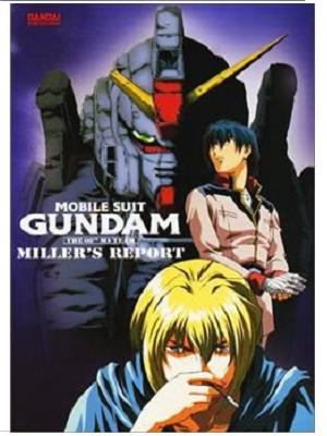 Anime Mobile Suit Gundam: The 08th MS Team, Miller's Report Pelicula